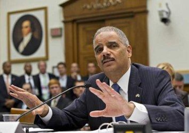 Holder to strengthen guidelines on obtaining journalists' data