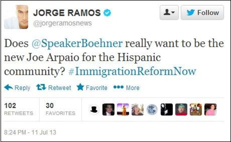Why Boehner should care about Jorge Ramos