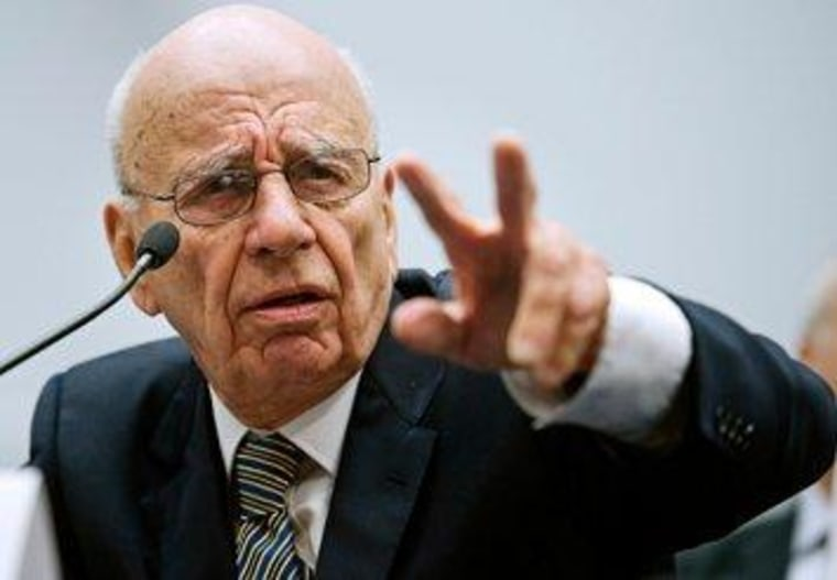 British Parliament would like a word with Rupert Murdoch