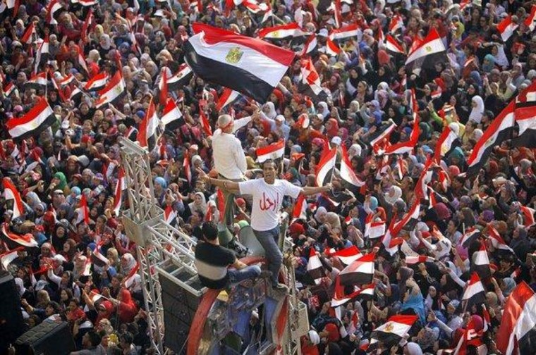 Egyptian military: Morsi is out