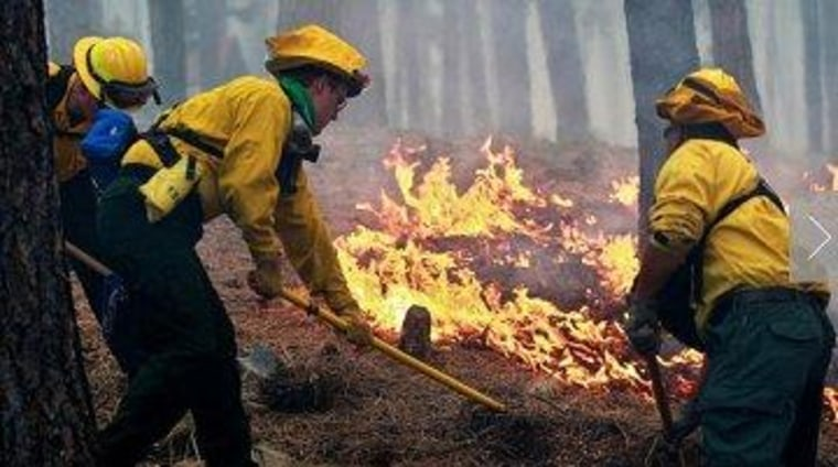 Sequestration cuts continue to take their toll, even on firefighting