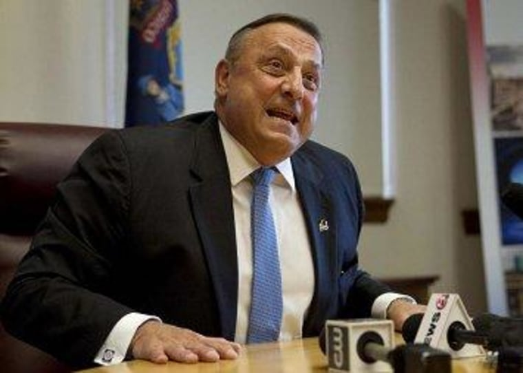 LePage eyes four more years in Maine