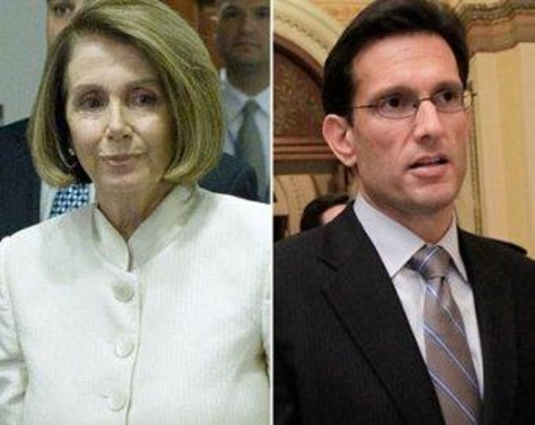 Cantor plays the blame game (poorly)