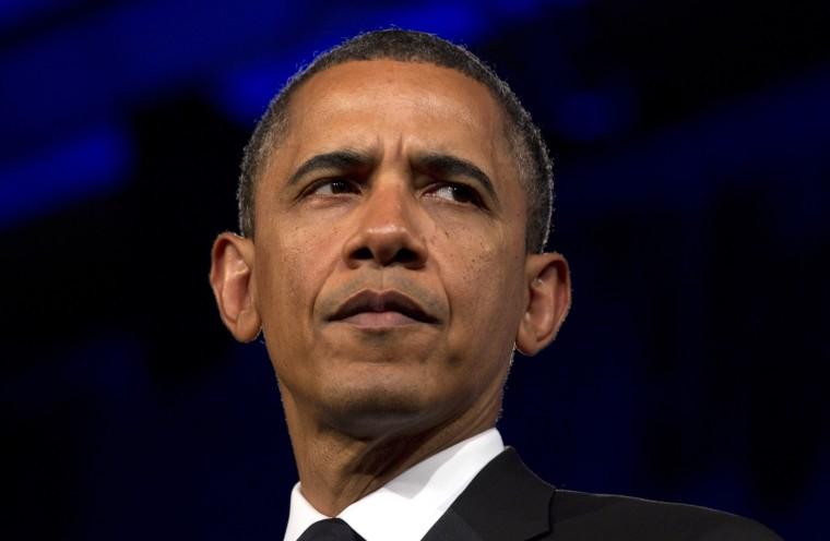 In this May 8, 2012 file photo, President Barack Obama speaks in Washington. President Barack Obama faced mounting pressure Wednesday to express support for same-sex marriage after a setback for gay-rights advocates in North Carolina. (AP Photo/Carolyn...