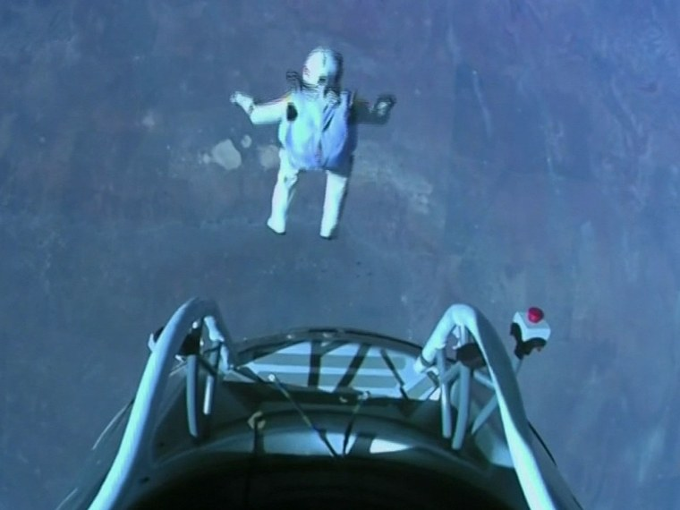 Felix Baumgartner, the new king of skydiving, successfully jumped 24 miles from space to earth.