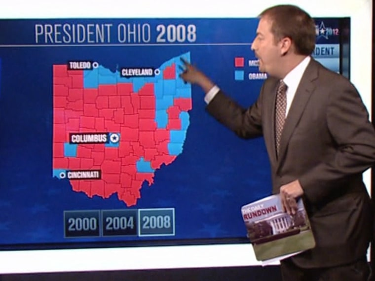 Chuck with Ohio 2008 Map