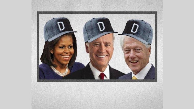 The democratic political baseball team