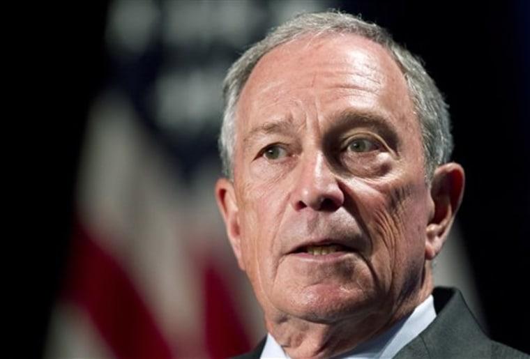 New York City Mayor Michael Bloomberg (AP Photo/Manuel Balce Ceneta)