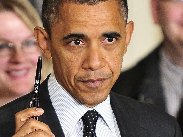 President Barack Obama...
