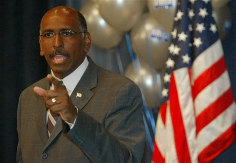 Former RNC chair Michael Steele. (AP Photo/Matt Houston)
