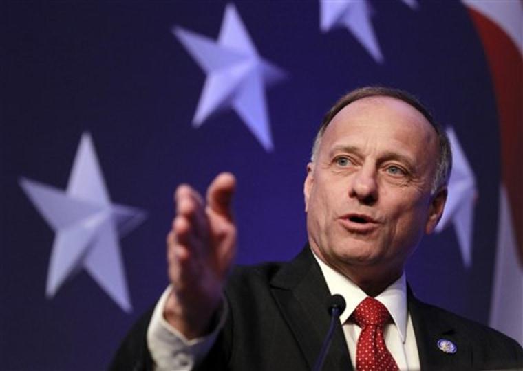 Iowa Congressman Steve King (AP Photo/Alex Brandon, File)