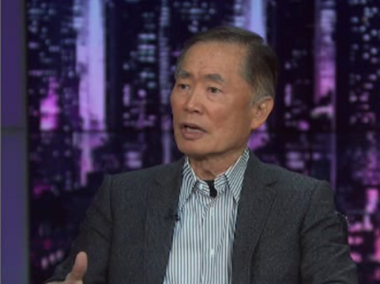 """Actor George Takei on msnbc's \""""The Last Word with Lawrence O'Donnell\"""" December 6, 2012"""