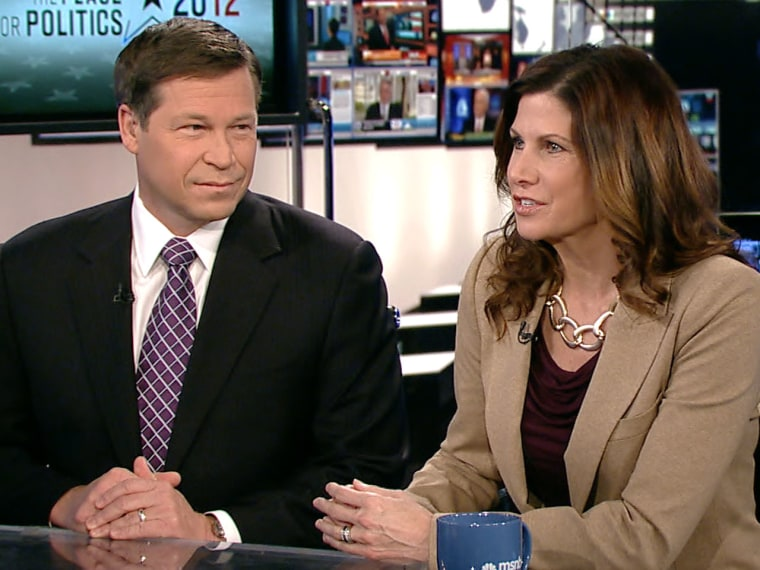 Rep. Connie Mack IV, R-Fla., and Rep. Mary Bono Mack, R-Calif., during an appearance on The Daily Rundown.