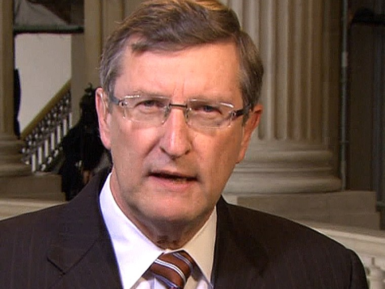 Sen. Kent Conrad, D-N.D., during an appearance on Andrea Mitchell Reports.