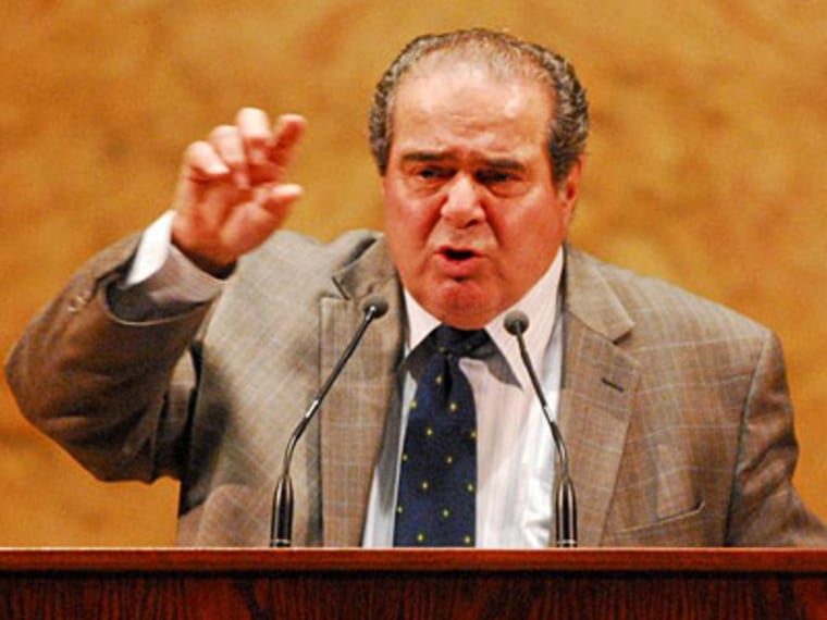 Justice Antonin Scalia  (Photo by Katherine Elgin/The Daily Princetonian)