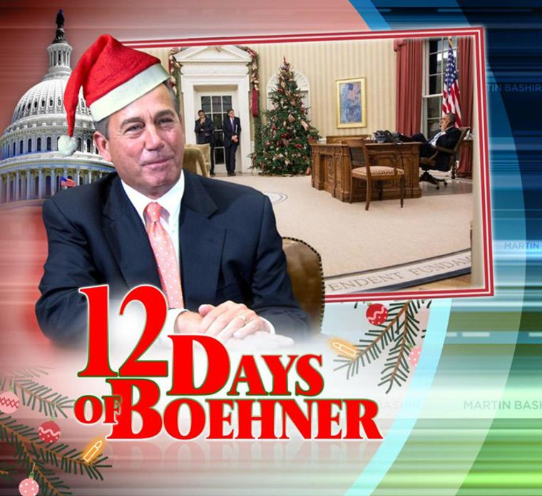 12 days of boehner mon