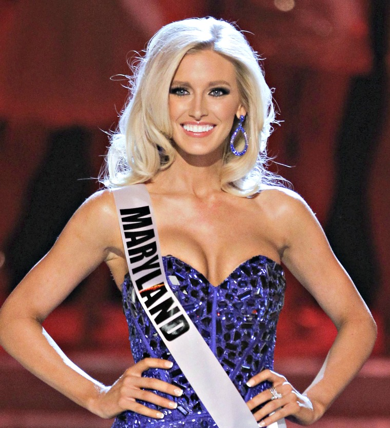 before the Miss USA pageant, Sunday, June 19, 2011, in Las Vegas.  (AP Photo/Julie Jacobson)