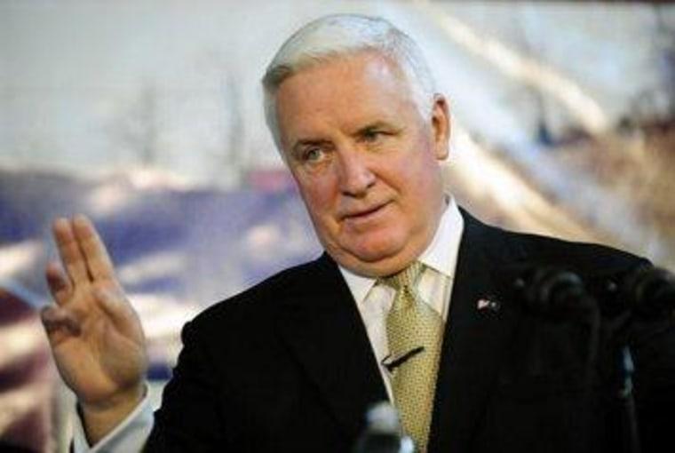 Corbett losing friends fast in Pennsylvania