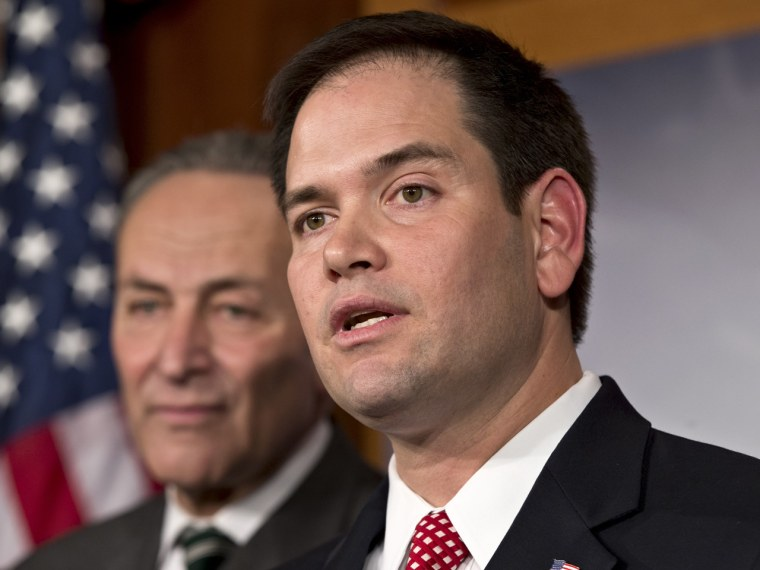 Sen. Marco Rubio has tried to present a new face of the GOP. (Photo by J. Scott Applewhite/AP)