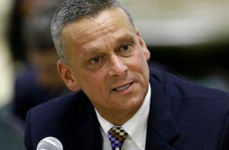 Former Indiana and current Florida schools chief Tony Bennett