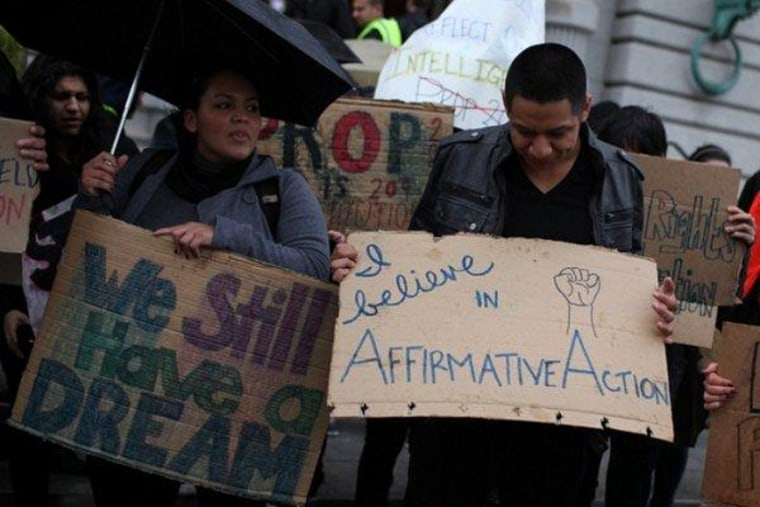 Changing minds on affirmative action