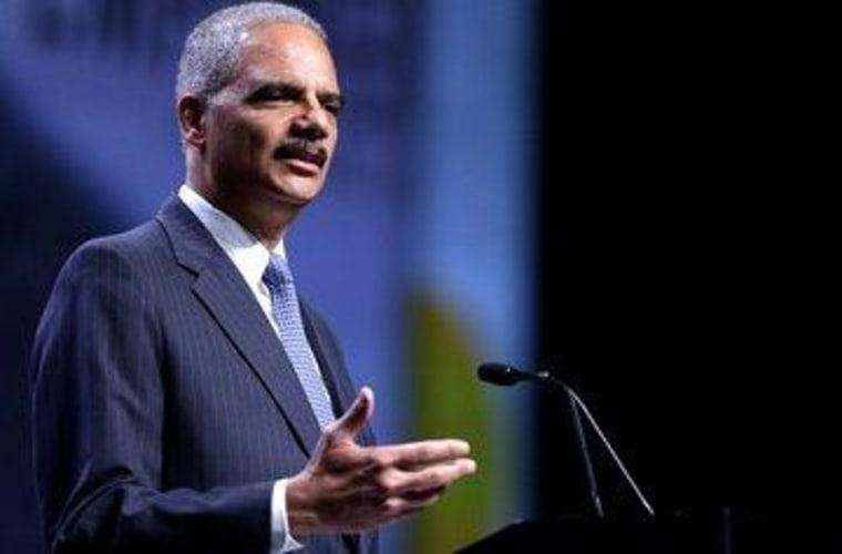 Holder steps up, GOP stands down on sentencing reforms