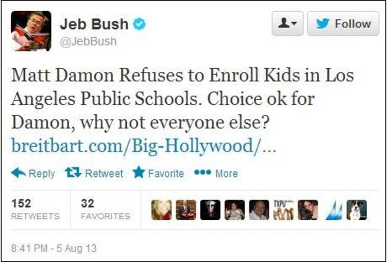 Jeb Bush's narrow understanding of 'choice'