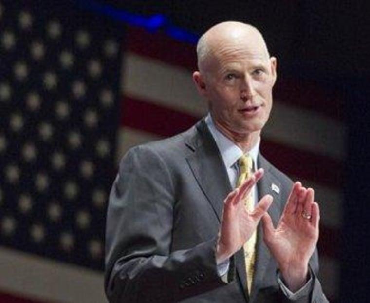 Florida's Scott readies second 'disgusting' voter purge