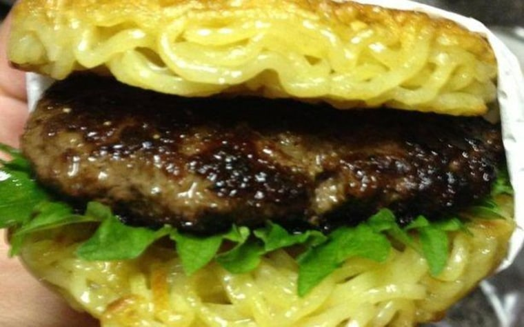 Say hello to your new ramen burger overlord
