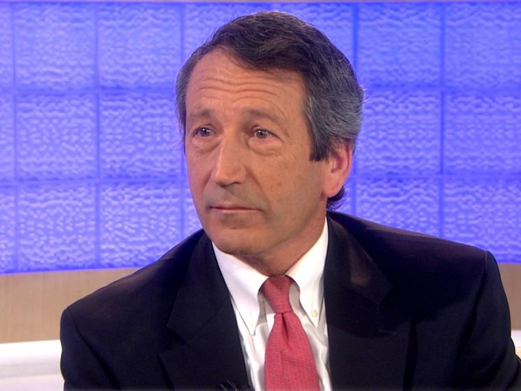 Former South Carolina Governor Mark Sandford (NBC News)