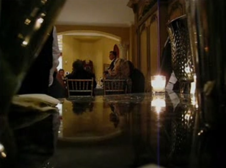 "Screen grab of secretly recorded ""47 perccent"" video, which show Mitt Romney speaking to donors at a Florida fundraiser"