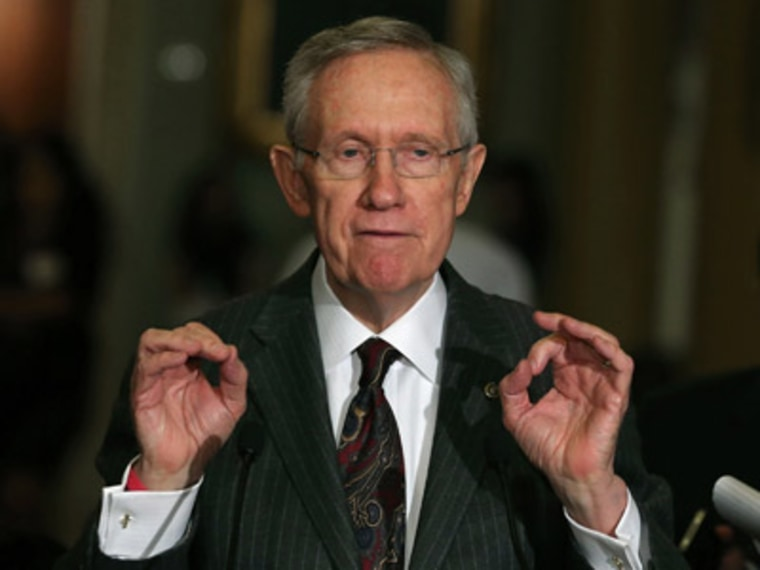 Senate Majority Leader Harry Reid (Photo by Mark Wilson/Getty Images)