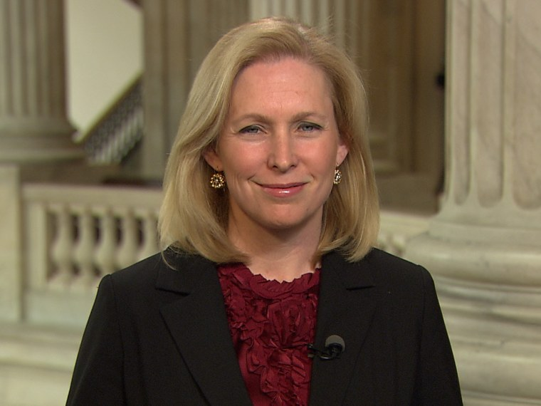 Sen. Kirsten Gillibrand of New York (msnbc)