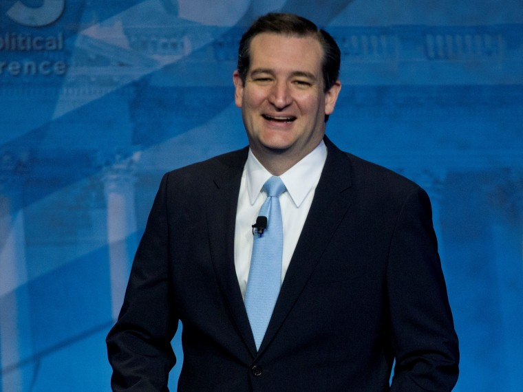 Sen. Ted Cruz, R-Texas (AP Photo/Carolyn Kaster)