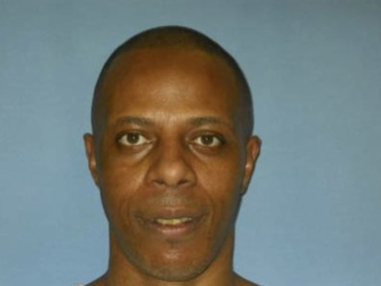 This is a Sept. 16, 2010 Mississippi Department of Corrections provided photograph of death row inmate Willie Jerome Manning, taken at the Mississippi State Penitentiary at Parchman, Miss., who is scheduled to die by lethal injection, Tuesday, May 7. ...