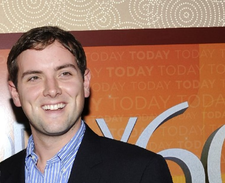 """File photo: Luke Russert attends the """"Today"""" show 60th anniversary celebration Jan. 12, 2012 in New York. Photo by: Evan Agostini/AP Photo)"""