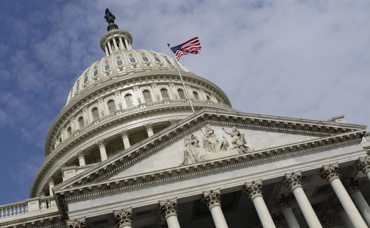 FILE -This July 28, 2011 file photo shows the Capitol Dome on Capitol Hill in Washington. Democrats controlling the Senate are pressing for money to...