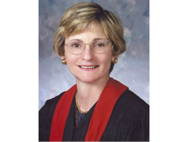 This undated photo provided by the 5th U.S. Circuit Court of Appeals shows Judge Edith Jones. Jones is a possible nominee for the U.S. Supreme Court.  (AP Photo/5th U.S. Court of Appeals)