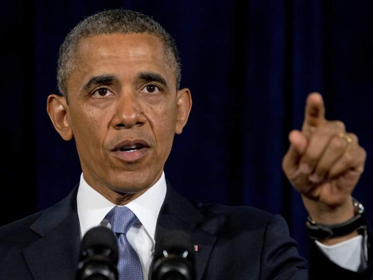 President Barack Obama gestures while speaking in San Jose, Calif. , Friday, June 7, 2013. The president defended his government's secret surveillance, saying Congress has repeatedly authorized the collection of America's phone records. (AP Photo/Evan...