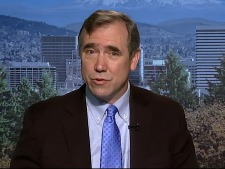 U.S. Senator Jeff Merkley spoke to Alex Wagner Friday about government surveillance programs.