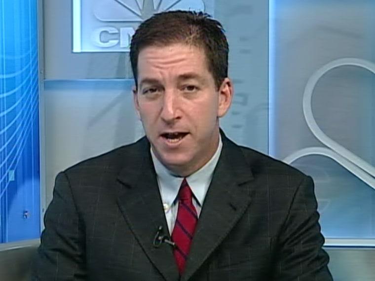 Guardian reporter Glenn Greenwald on Morning Joe.