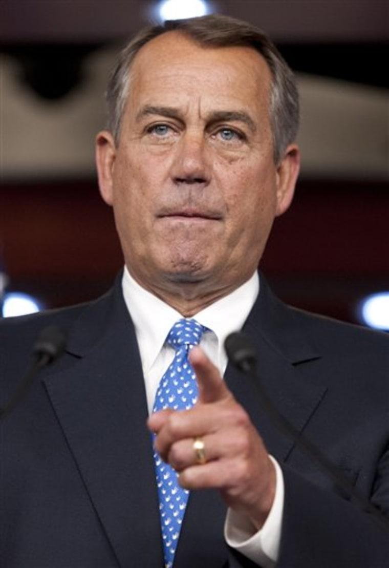 House Speaker John Boehner (AP Photo/Cliff Owen)