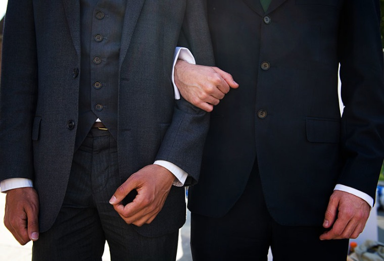 Supporters of same-sex marriage. (Photo by Leon Neal/AFP/Getty Images)