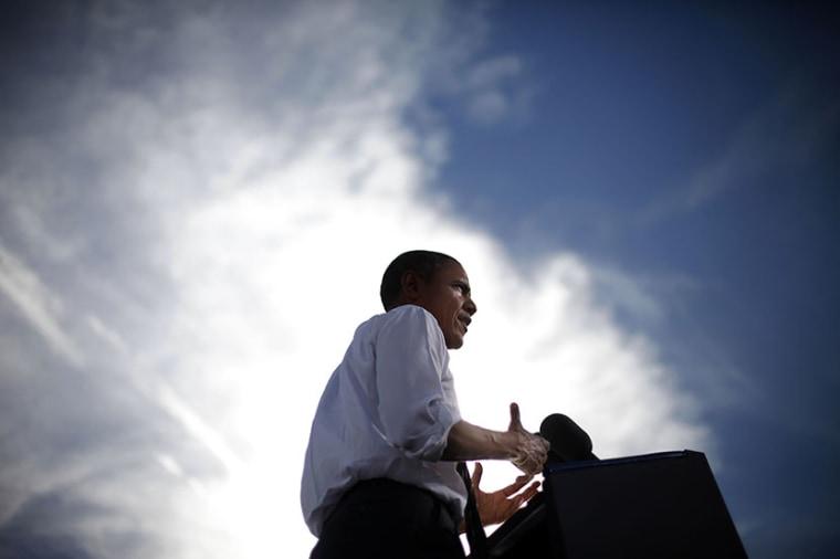 President Barack Obama.  (Photo by Pablo Martinez Monsivais/AP)