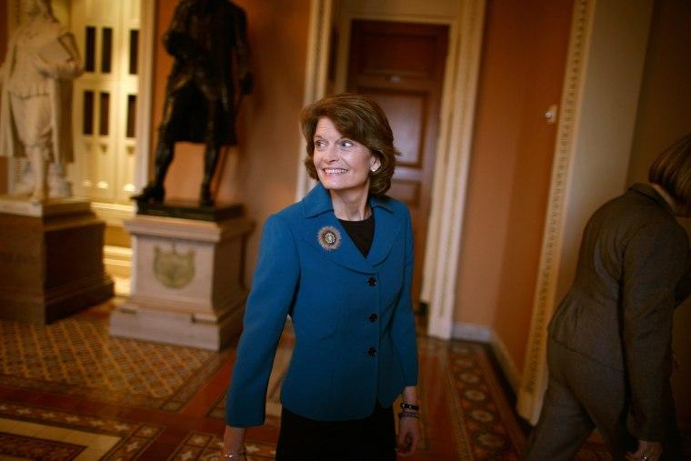 Alaska Republican Sen. Lisa Murkowski (Photo by Chip Somodevilla/Getty Images)
