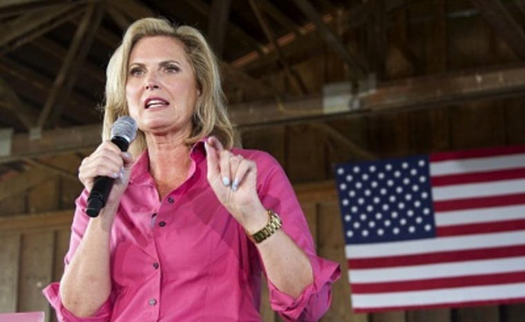 Ann Romney speaks during a campaign event Friday, Sept. 7, 2012. (Photo by Manuel Balce Ceneta/AP)