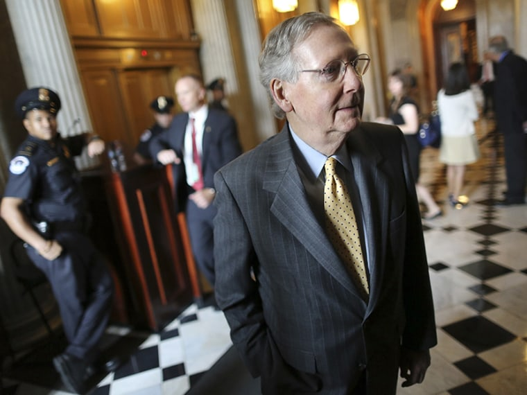 U.S. Senate Minority Leader Mitch McConnell (Photo by Jonathan Ernst/Reuters)