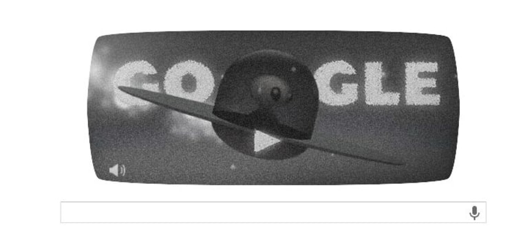 Today's Google Doodle commemorating the Roswell incident. 7/8/2008