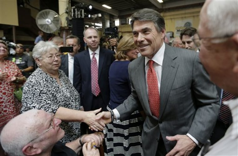 Look at it this way: There's no way Rick Perry could do WORSE in 2016, right?(AP Photo/Eric Gay)