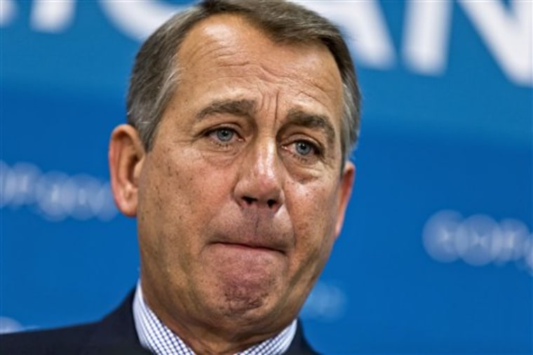 "The House GOP does, in fact, have a ""filibuster"", which they use with abandon. (AP Photo/J. Scott Applewhite)"